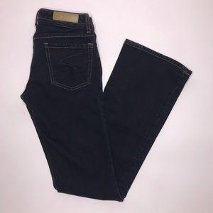 Seven7 Dark Wash Classic Flare Jeans Size 27
